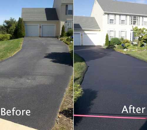 Paving Seal Benefits include protection from the elements, Freezing, oil, and water